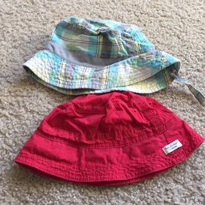 Other - Two boys sun hats